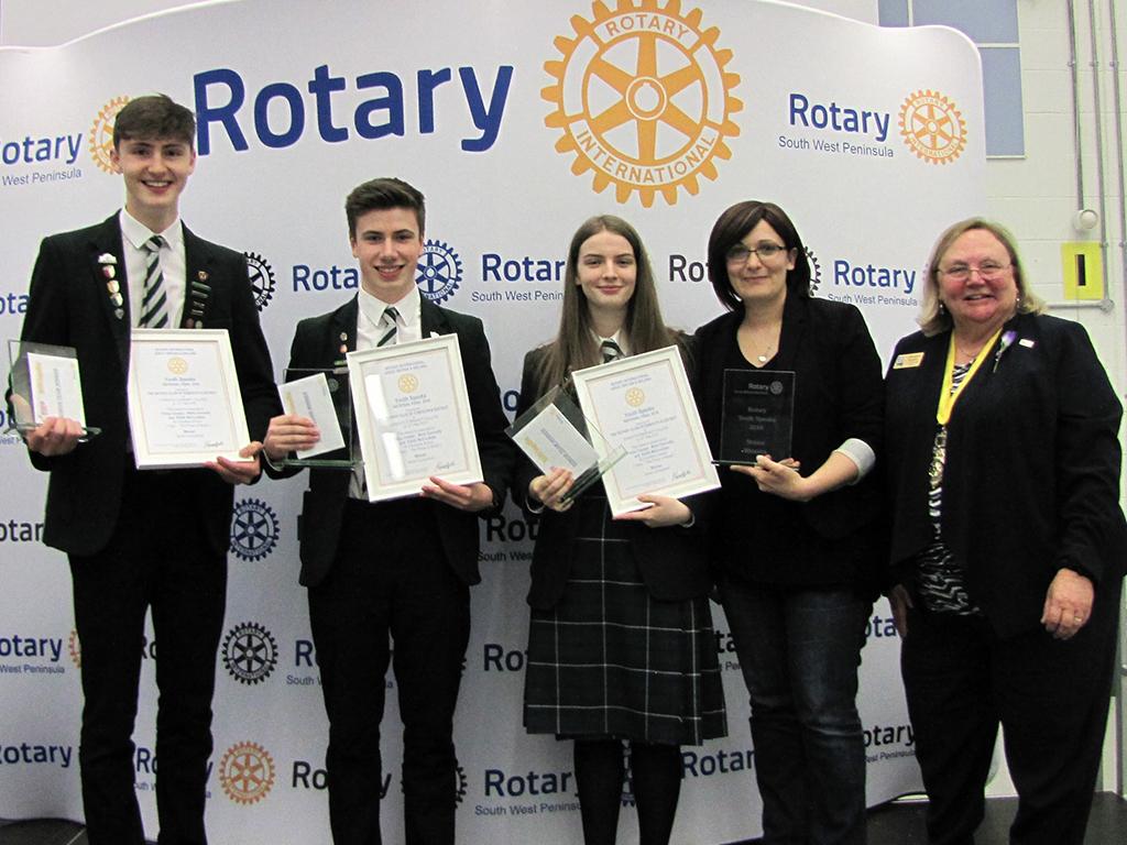 Scottish schools crowned Youth Speak champions Columbas