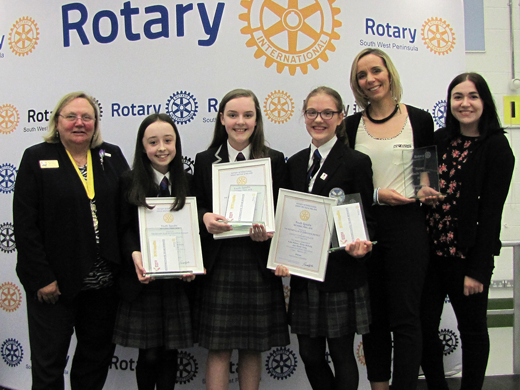 Scottish schools crowned Rotary Youth Speaks champions