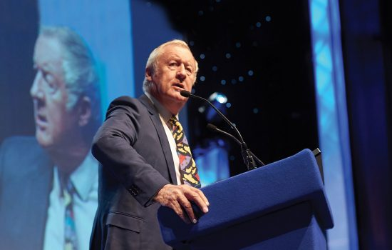 Chris Tarrant speaks at Rotary Conference 2018