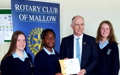 mallow peace project with schools and rotary members