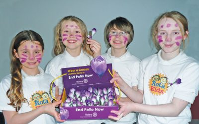RotaKids fundraising end polio now