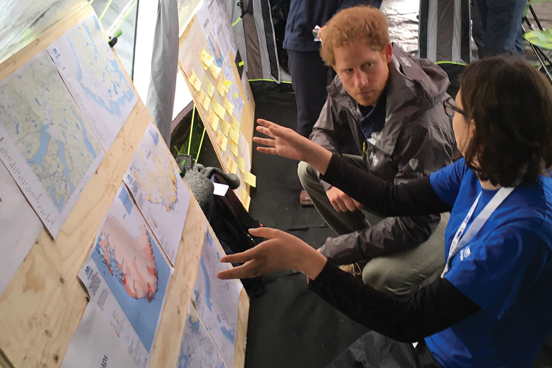 prince harry mapaction patron