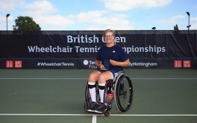 abbie breakwell wheelchair tennis championships