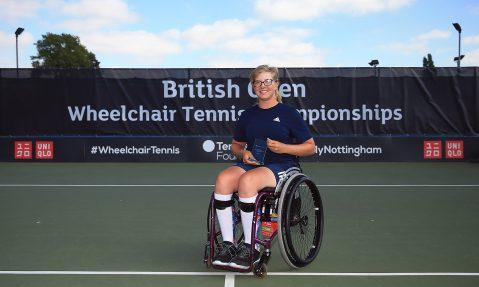 abbie breakwell wheelchair tennis championships