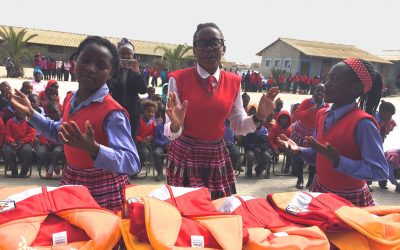 Rotary supports girls Africa sanitary items project dignity