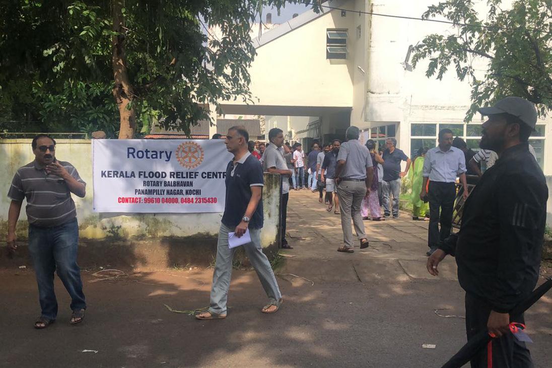 Rotary Kerala Flood Relief Centre