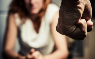 man with clenched fist domestic abuse