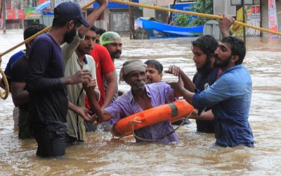 rescue team floods kerala