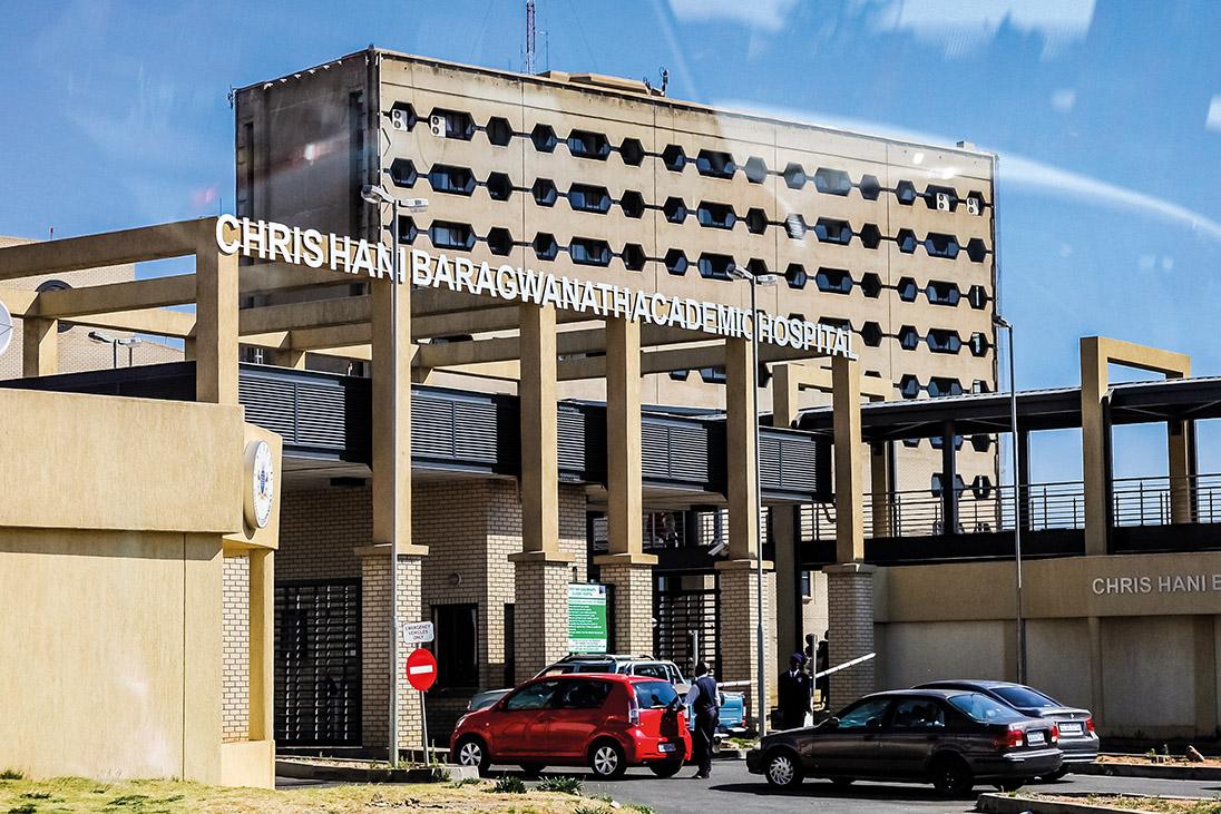 hospital soweto south africa providing palliative care rotary foundation