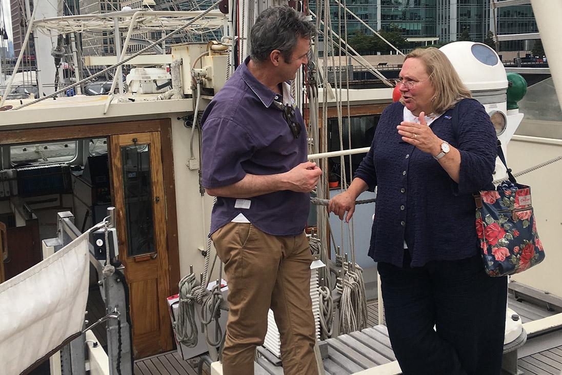 debbie hodge lord nelson jubilee sailing trust
