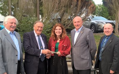 rotary isle of man fundraising for artist
