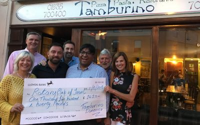 rotary yeovil restaurant funds