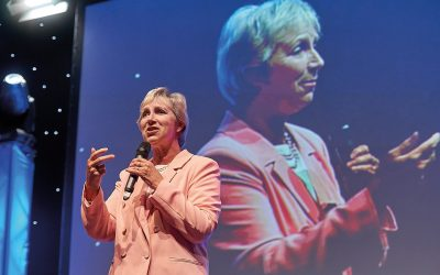pam rhodes speaking rotary conference