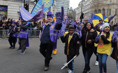 rotary london new year's day parade