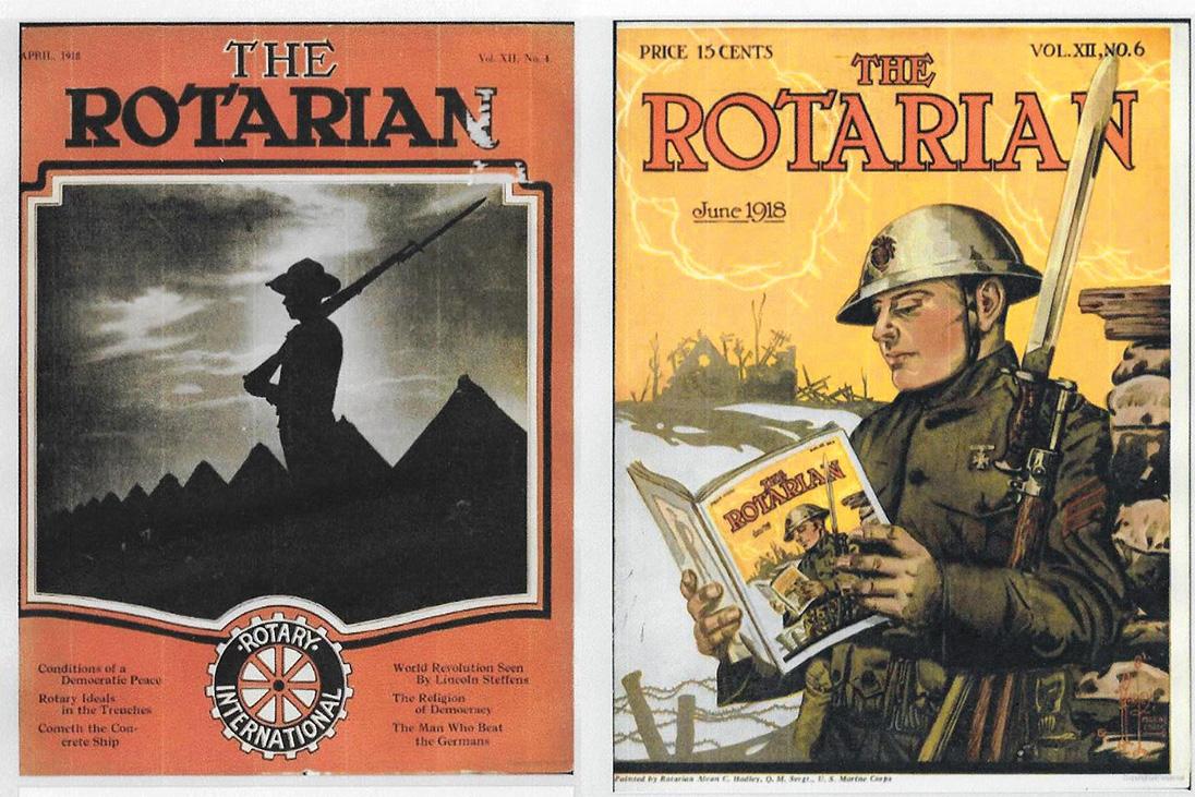 the rotarian magazine 1918