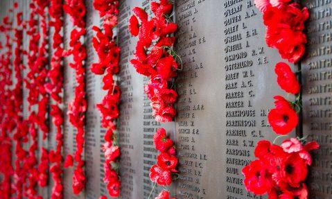 wwi poppy memorial