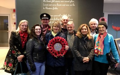 leatherhead rotary members remembrance service