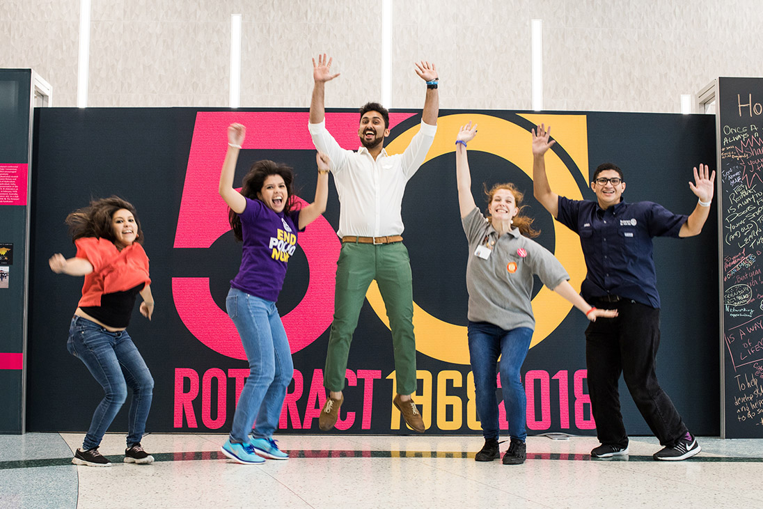 50 years of Rotaract
