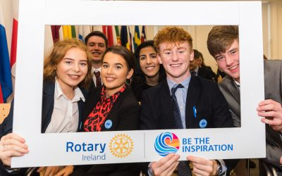 rotary ireland european parliament youth leadership development