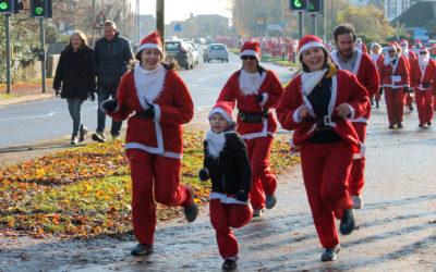 rotary santa fun run