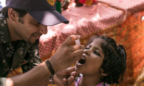 Rotary and Polio