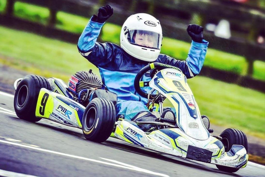 go-karting sponsership