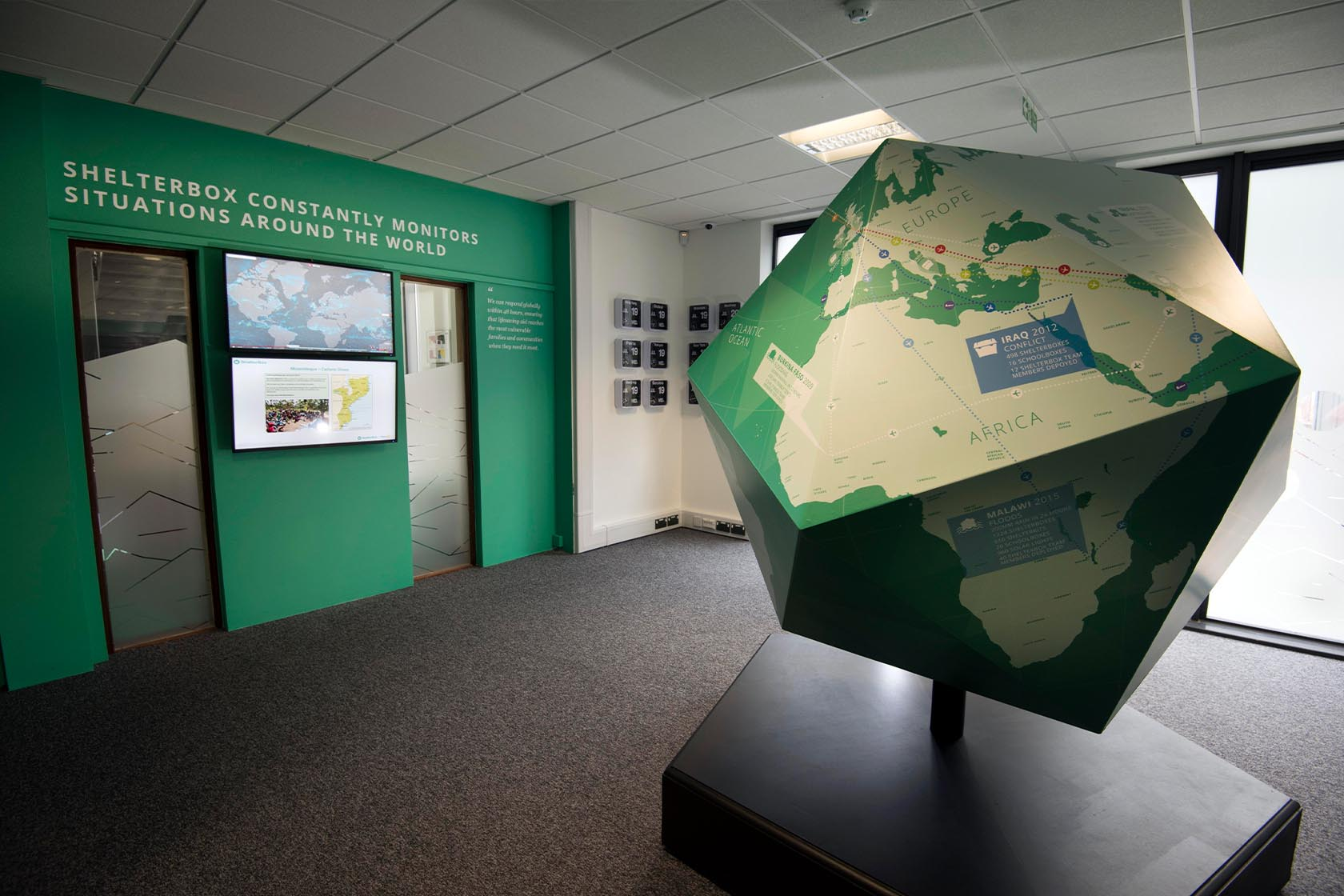 shelterbox visitor centre