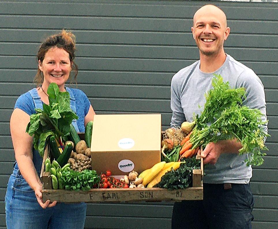 Oooby vegetable box