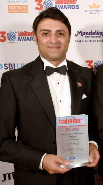 Shd Saleem Asian Trader Awards
