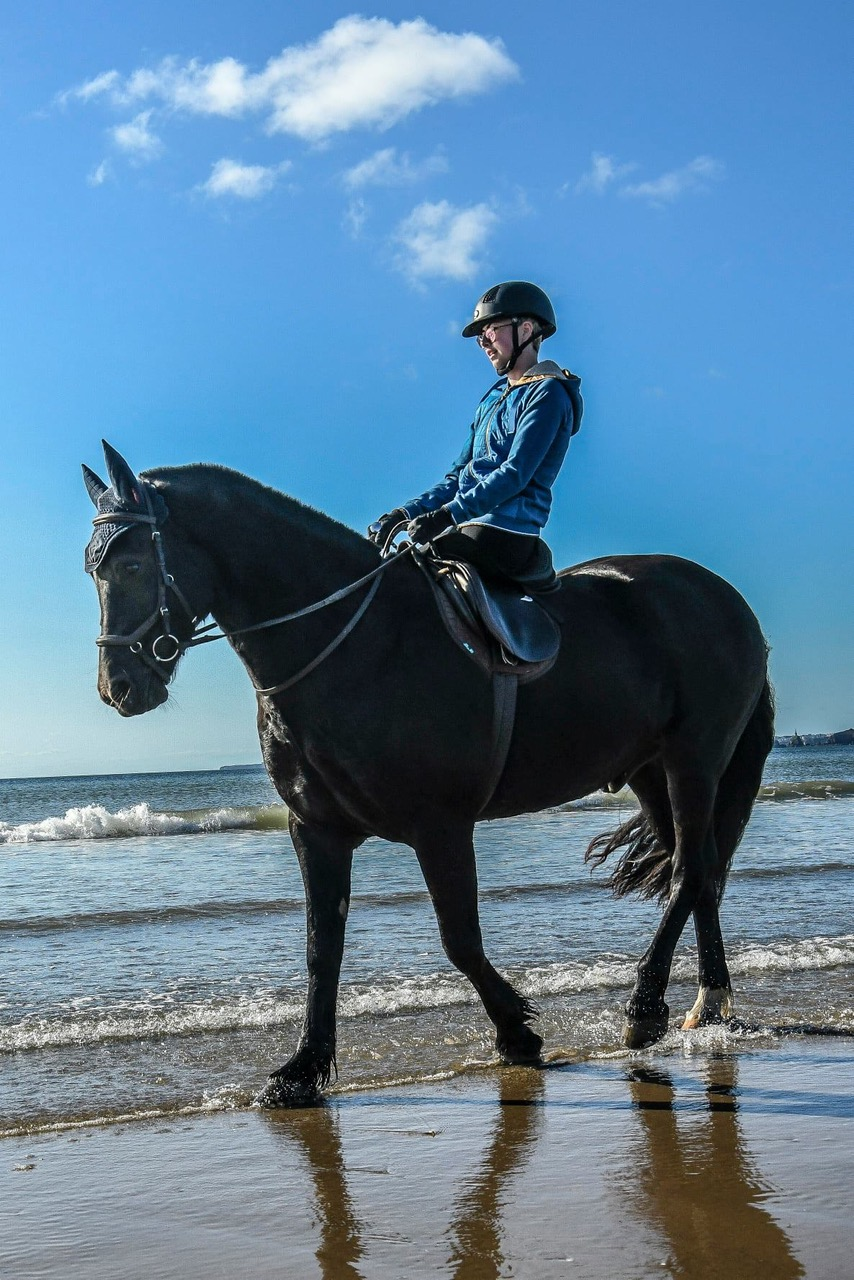 Maddie on horse